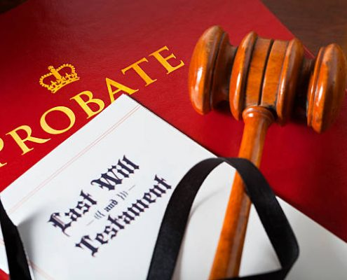 probate & wills - red book