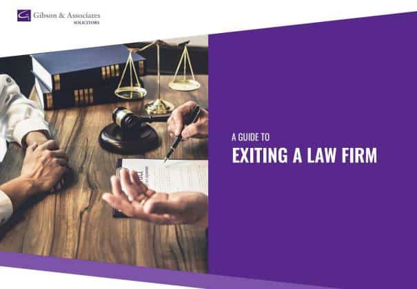 A Guide to Existing a Law Firm