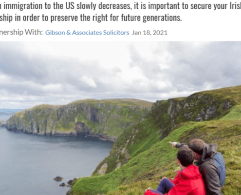 Gibson & Associates- Why Should You Come to Ireland From South Africa?